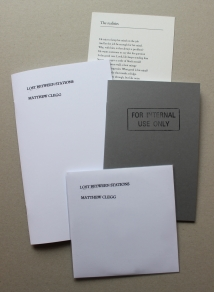 Matthew Clegg pamphlets